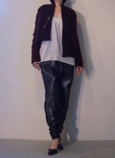 Knit Cardigan【ANN DEMEULEMEESTER】Tops, Pants【ROQUE】