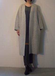 Knit Coat【east by eastwest】Knit Dress【LIVIANA CONTI】Pants【ROQUE】