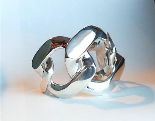 Curve Chain Bangle / Présenté par va-tout_BdT