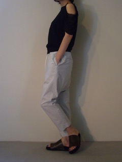 Tops【LIVIANA CONTI】Pants【bassike】Shoes【ANN DEMEULEMEESTER】