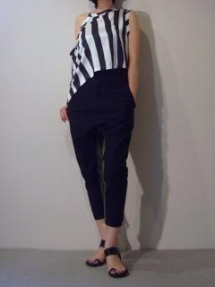 Tops【ANN DEMEULEMEESTER】Pants【bassike】
