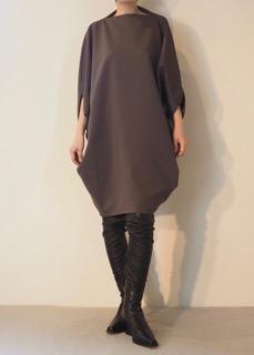 Dress【divka】Boots【ANN DEMEULEMEESTER】