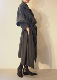 Coat【divka】Boots【ANN DEMEULEMEESTER】