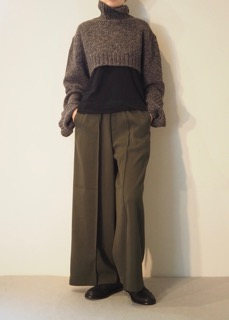 Short knit【Y's】Pants【near.nippon】Shoes【ANN DEMEULEMEESTER】