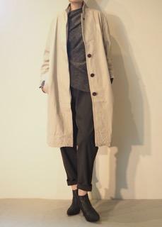 Coat【sisii】Sweater【tous les deux ensemble】Pants【bassike】