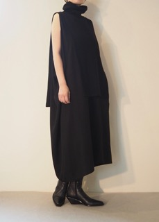 Dress【Y's】Boots【ANN DEMEULEMEESTER】