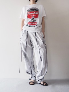 T-shirt【BLACK SCORE】Pants【divka】Shoes【A.F.VANDEVORST】