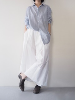Shirt【bassike】Pants【divka】Shoes【HAIDER ACKERMANN】