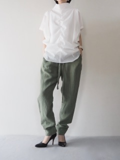 Tops【Olta Designs】Pants【bassike】Bangle【iolom】