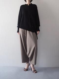 Knit cardigan【RISMAT by Y's】Pants【tous les deux ensemble】