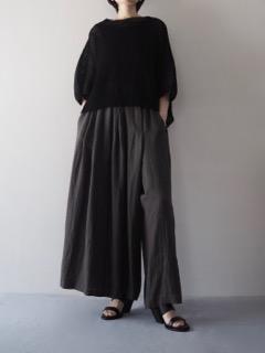 Knit top【tous les deux ensemble】Pants【tous les deux ensemble】Shoes【A.F.VANDEVORST】