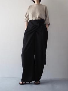 Knit top【bassike】Pants【 tous les deux ensemble】