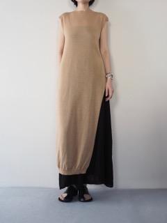 Knit Dress【tous les deux ensemble】Pants【TreBarraBi】Bangle【Présenté par Va-tout】